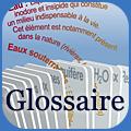 Glossaire sur l'eau logo
