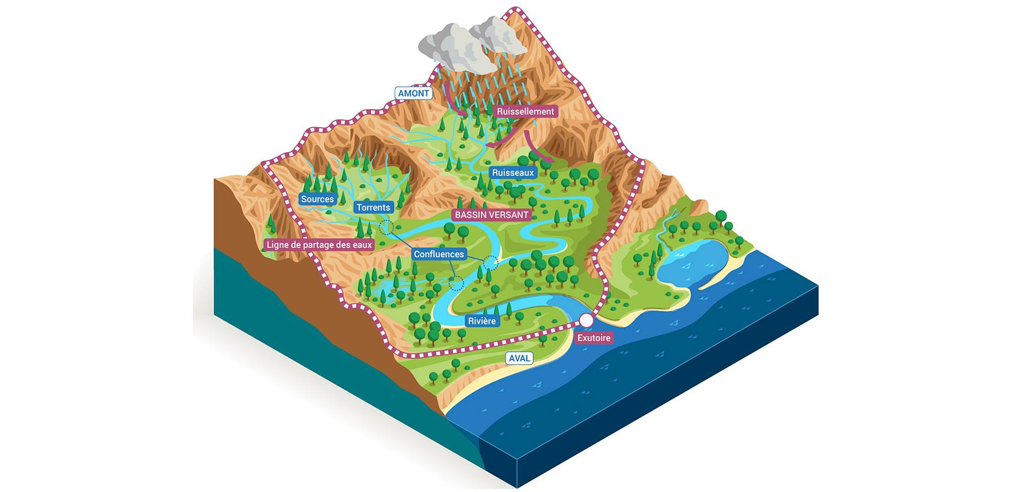 fleuves et rivières